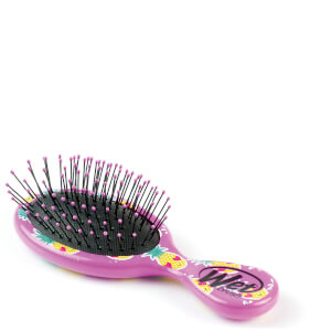 WetBrush Mini Detangler Happy Hair Smiley - Pineapple: Image 3