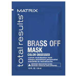Matrix Total Results Brass Off Mask Sachet 30ml