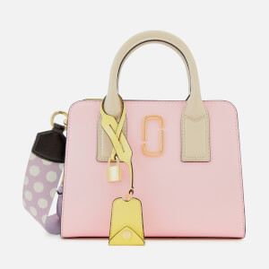Marc Jacobs Women's Little Big Shot Tote Bag - Blush Multi