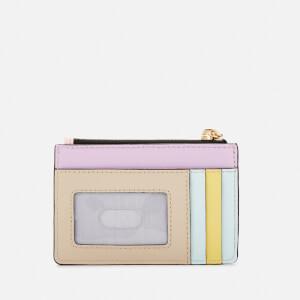 Marc Jacobs Women's Top Zip Multi Wallet - Blush Multi: Image 2