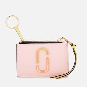 Marc Jacobs Women's Top Zip Multi Wallet - Blush Multi: Image 3