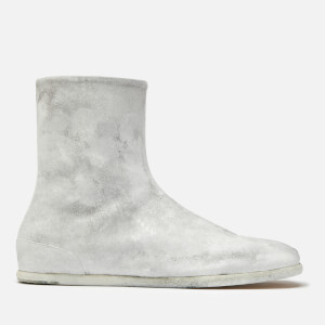 Maison Margiela Men's Tabi Ankle Flat Boots - White
