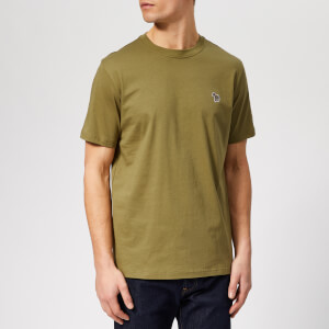 PS Paul Smith Men's Regular Fit Zebra T-Shirt - Green