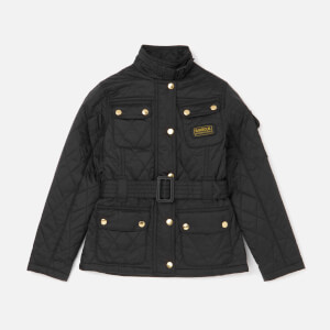 Barbour International Girls' Flyweight Jacket - Black
