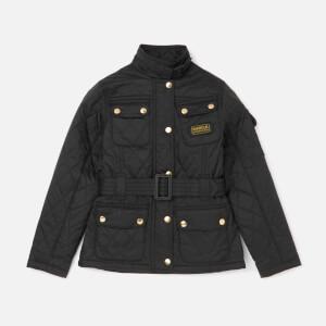 Barbour International Girls' Flyweight Jacket - Black