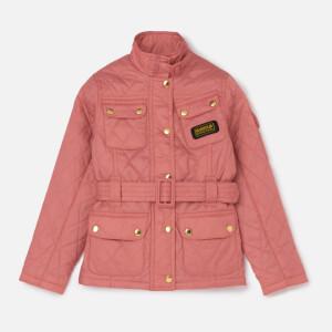 Barbour International Girls' Flyweight Jacket - Vintage Rose