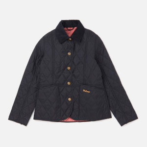 Barbour Girls' Summer Liddesdale Jacket - Navy/Vintage Rose