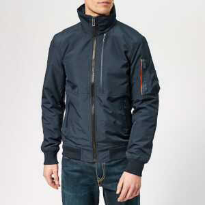 Superdry Men's Moody Light Bomber Jacket - Navy
