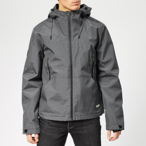 Superdry Men's Arctic Elite Windcheater Jacket - Dark Charcoal