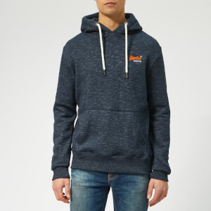 Superdry Men's Classic Overhead Hoodie - Navy Feeder