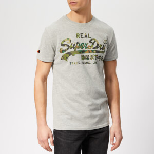 Superdry Men's Camo Logo T-Shirt - Grey