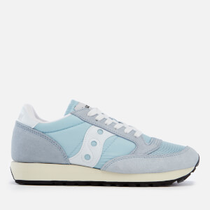 Saucony Women's Jazz Original Vintage Trainers - Blue/White