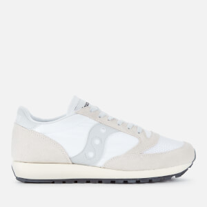 Saucony Men's Jazz Original Vintage Trainers - White/White