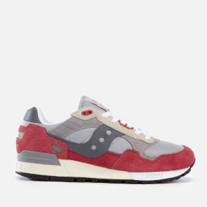 Saucony Men's Shadow 5000 Vintage Trainers - Grey/Red