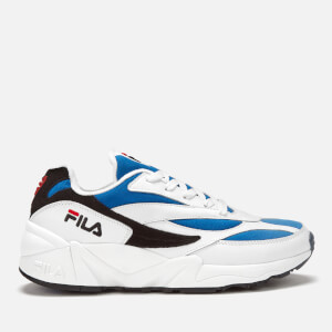 FILA Men's Venom Trainers - White/Electric Blue/Black