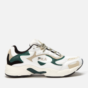 FILA Men's Luminance Trainers - White/Black/Ponderosa Pine