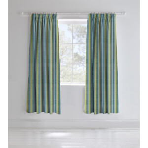 Catherine Lansfield Dino-Saw Blackout Curtains - 66 x 72In