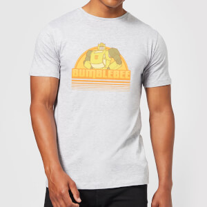 Camiseta Transformers Bumble Bee - Hombre - Gris