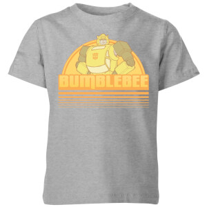 Camiseta Transformers Bumble Bee - Niño - Gris