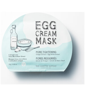 Too Cool For School Egg Cream Pore Tightening Mask 28.5g