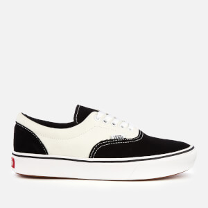 Vans ComfyCush Suede/Canvas Era Trainers - Black/Marshmallow