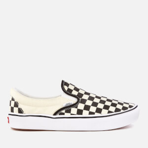 Vans ComfyCush Classic Slip-On Trainers - Checkerboard/True White