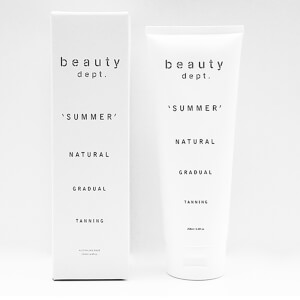 The Beauty Department Natural Gradual Tanning Lotion - Summer