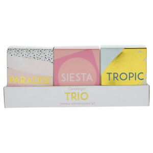 Candlelight Set of 3 'Trio' Mini Votives in Gift Box