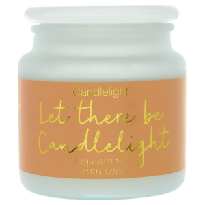 Candlelight 'Let there be Candlelight' Frosted Jar Candle