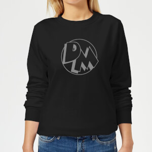 Danger Mouse Initials Women's Sweatshirt - Black
