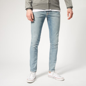 Nudie Jeans Men's Skinny Lin Jeans - Light Blue Power