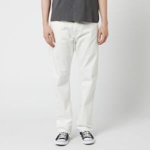 Nudie Jeans Men's Sleepy Sixten Straight Jeans - Ecru
