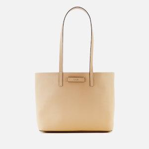 DKNY Women's Brayden Med Reversible Tote Bag - Latte/Pink