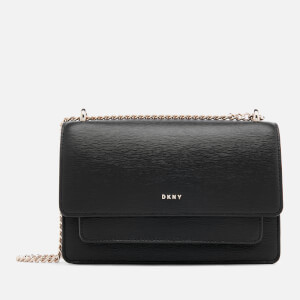 DKNY Women's Bryant Small Chain Cross Body Bag - Black/Gold