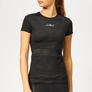 4d4e21d0027039 adidas by Stella McCartney Women's Train Short Sleeve T-Shirt - Black