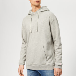 Tommy Jeans Men's Classics Hoodie - Light Grey Heather