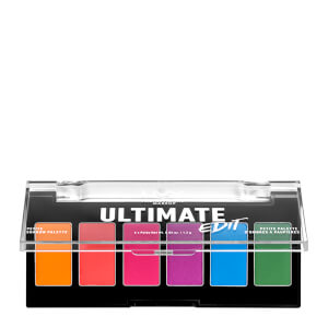 NYX Professional Makeup Ultimate Edit Petite Eye Shadow Palette - Brights