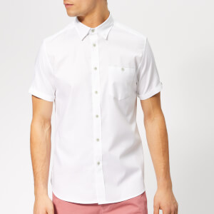 Ted Baker Men's Wallabi Short Sleeve Shirt - White