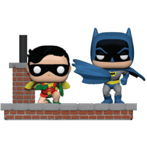 Pack 2 Figuras Funko Pop! Movie Moments Batman y Robin - Batman