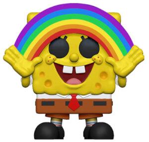 SpongeBob S3 - Spongebob with Rainbow Animation Pop! Vinyl Figure