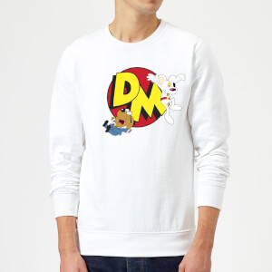 Danger Mouse Run! Sweatshirt - White