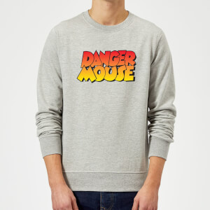 Danger Mouse Colour Logo Sweatshirt - Grey