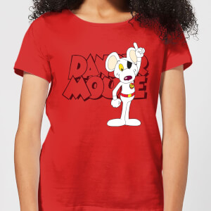 Danger Mouse Pose Women's T-Shirt - Red