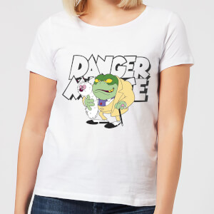 Danger Mouse Greenback Women's T-Shirt - White