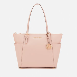 MICHAEL MICHAEL KORS Women's Jet Set East West Top Zip Tote Bag - Soft Pink