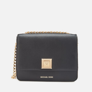 MICHAEL MICHAEL KORS Women's Sylvia Medium Messenger Bag - Black