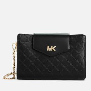 MICHAEL MICHAEL KORS Women's Large Convertible Cross Body Bag Clutch - Black