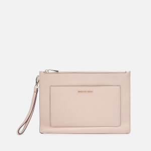 MICHAEL MICHAEL KORS Women's Pouches Large Pocket Zip Pouch - Soft Pink