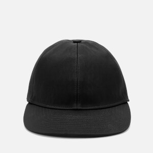 Lanvin Men's Satin Logo Cap - Black