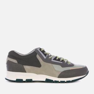 Lanvin Men's Polyester and Mesh Runners - Light Grey/Dark Grey
